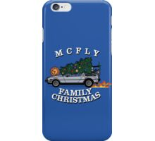 McFly Family Christmas iPhone Case/Skin