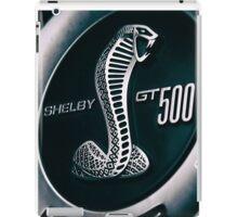 Shelby GT500 Logo 2 iPad Case/Skin