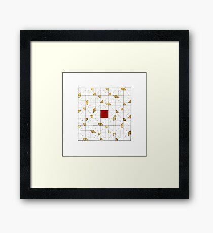 Adab (Etiquette) Framed Print