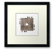 Faqr (Poverty) Framed Print