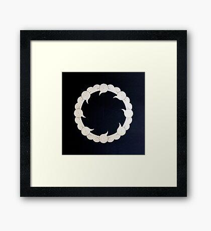 'Adam (Nothingness) Framed Print