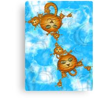 Inner Child - Little Tigers in the Sky Canvas Print