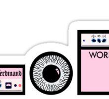 Franz Ferdinand: Amps & Kick Sticker