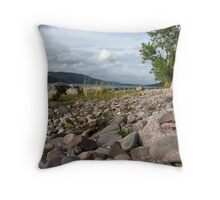 Loch Ness Scotland Throw Pillow