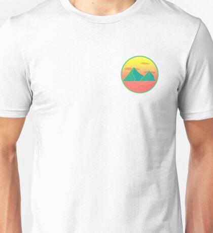 Zig Zag Mountain Unisex T-Shirt