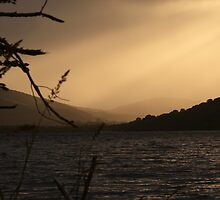 Loch Ness Sunset, Scotland by LisaRoberts