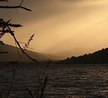 Loch Ness Sunset, Scotland by LisaRoberts