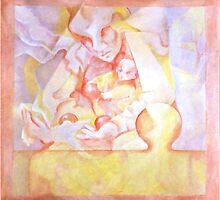 PUZZLE PIECE #9 by IRENE NOWICKI