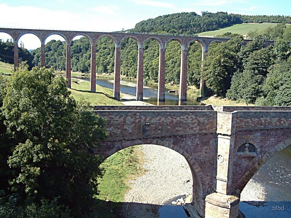 Leaderfoot viaduct by blod