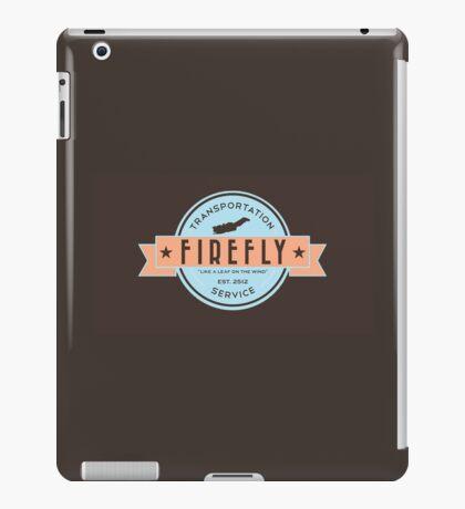 Firefly Transportation Logo iPad Case/Skin