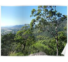 Half way up, Karanda, Qld, Australia Poster