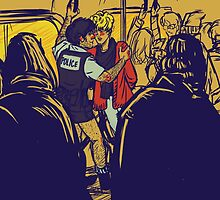 Enjolras gets arrested by Coptaire by nisiedraws