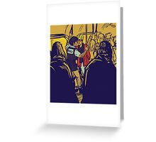 Enjolras gets arrested by Coptaire Greeting Card