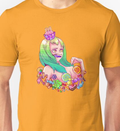 Sweetie the Sugar Obsessed Seductress Unisex T-Shirt