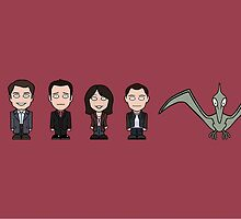 Torchwood team (mug) by redscharlach