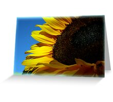 Sunny Sunflower Greeting Card