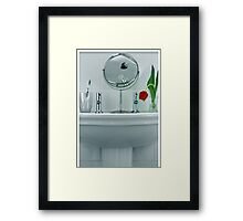 Tulip in the Loo Framed Print