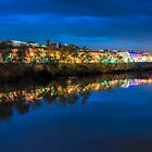 Reflections of lights by Ralph Goldsmith