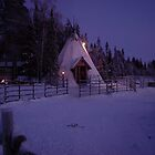 Lapland Wigwam by steve chamberlin