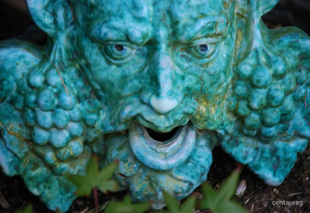 Dionysus In Turquoise by Greg German