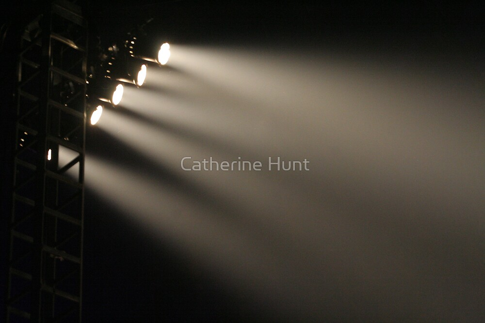Lights Camera Action by Catherine Hunt