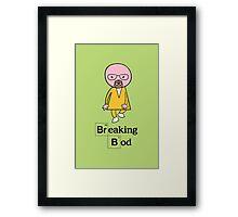 Breaking Bod Framed Print