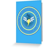 Wonderboltz - Royal Equestrian Air Force Greeting Card