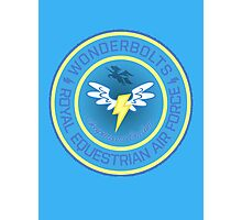 Wonderboltz - Royal Equestrian Air Force Photographic Print