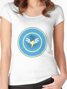 Wonderboltz - Royal Equestrian Air Force Women's Fitted Scoop T-Shirt