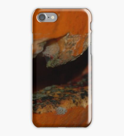 Decaying pumpkin mouth iPhone Case/Skin