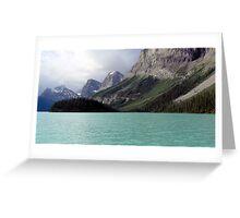 Lake Maligne  2007 Greeting Card