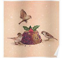 Christmas Pudding Raid  Poster
