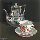 The Silver Teapot by Freda Surgenor