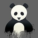Panda Graffiti by Mark Walker