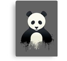 Panda Graffiti Canvas Print