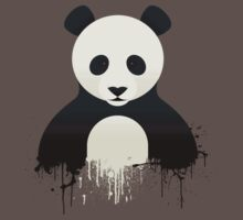 Panda Graffiti Kids Clothes