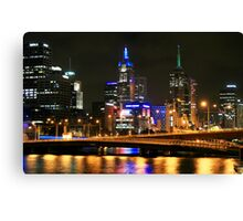 By the Yarra, Melbourne Canvas Print