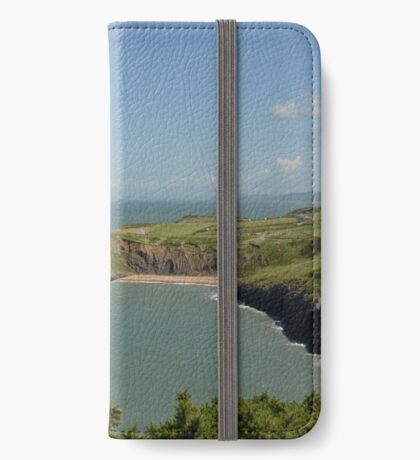 Mwnt beach iPhone Wallet
