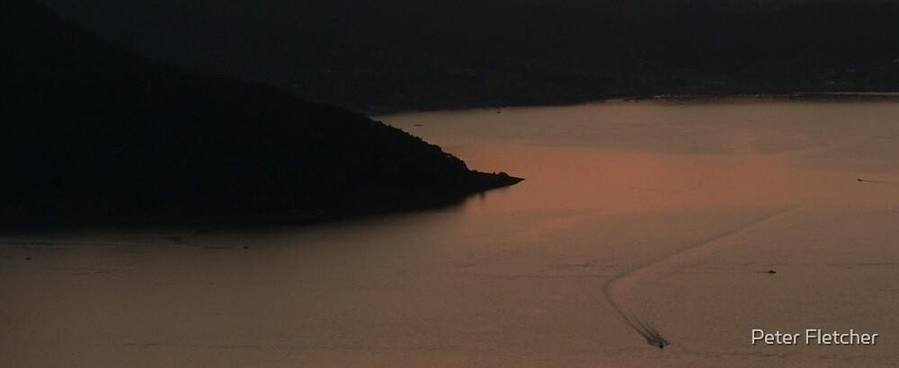 Lake at Valle de Bravo by Peter Fletcher