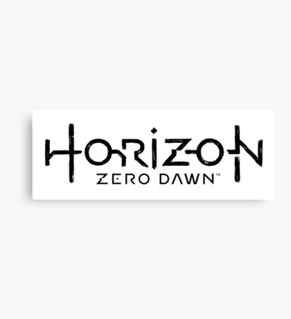 Horizon Zero Dawn  Canvas Print