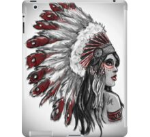 Red Indian - Color  iPad Case/Skin