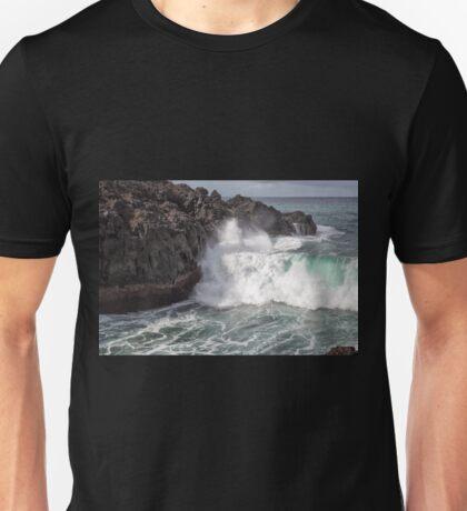Huge Wave at Los Hervideros, Lanzarote Unisex T-Shirt