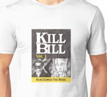 KILL BILL hand drawn movie poster in pencil Unisex T-Shirt