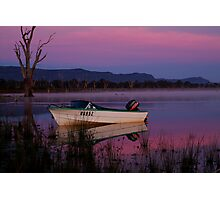 Mauve Tones, Lake Fyans Photographic Print