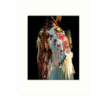 Woman Pow-wow Dancer Art Print