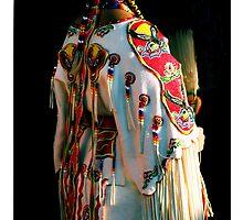 Woman Pow-wow Dancer by kalliope94041