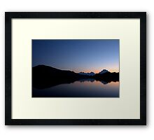 Oxbow Bend, Grand Tetons Framed Print