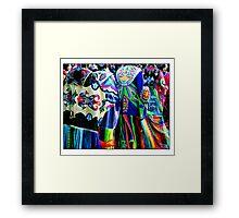 Women Shawl Dancers Framed Print