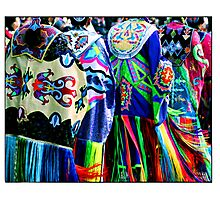 Women Shawl Dancers Photographic Print