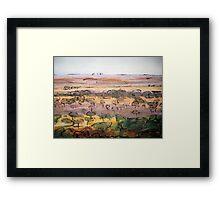 Outback Plains Framed Print